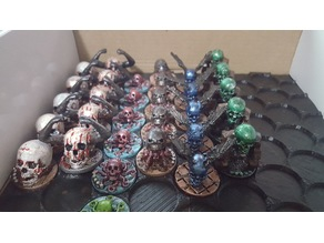 Generic Enemy Skull Figures for DnD