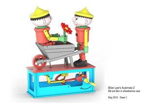 Bill and Ben Wheel Barrow race