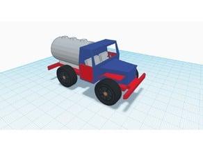 Tanker Truck designed in Tinkercad