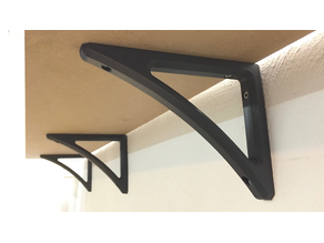Shelf bracket (heavy duty)