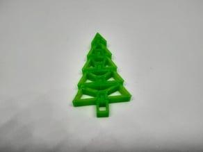 Christmas Flexi Tree - Decoration Tree