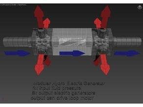 Modular Hydro Electric Generator 01