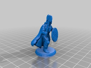 Barbarian Warrior - Ornate Ax