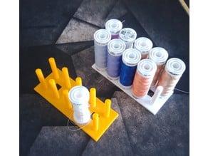 Embroidery spool sorter