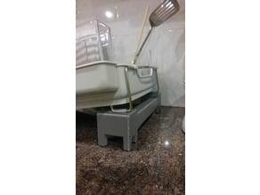 Dish drainer stand