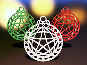 Xmas Geometric Ornament Vol.01