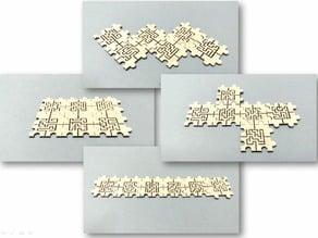 Comopsable maze