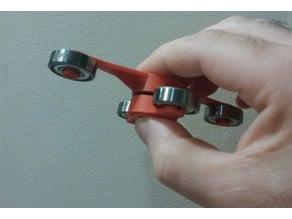 Double Simple Fidget Spinner