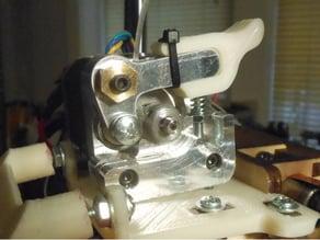 Printrbot Extruder thumbpiece