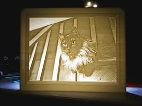 Noro the fancy cat Lithophane