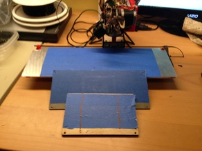 "PrintrBot Simple 14""x6"" (360mm x 160mm) Bed"