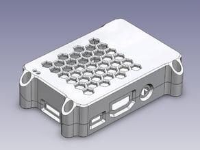 Raspberry Pi B+ / Pi 2 clam shell case