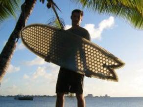 """Cardboard Surfboard - 6'4"""""""