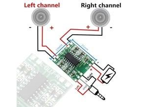 Sound aplifier board PAM8403 3W model