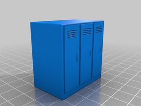 Miniature Lockers for Lobotomy Board Game