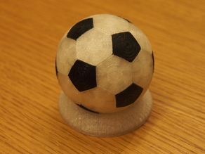 Truncated Icosahedron (rounded soccer form)