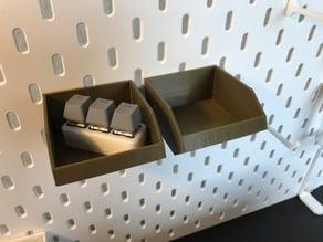 IKEA Skadis - Part Trays- Big