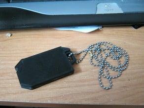 USB dogtag