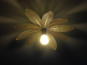 Flower Laser Lamp