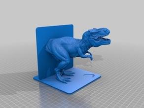 Tyrannosaurus Rex T-Rex Dinosaur Model Bookend