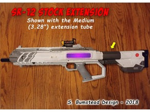 Recoil SR12 Gun Stock Extender