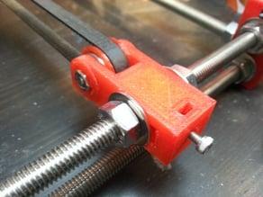 prusa i3 Y idler with belt tightener.