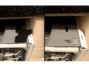 Dishwasher Kitchen top bracket