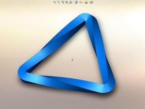 Three Sided Möbius Curve ...