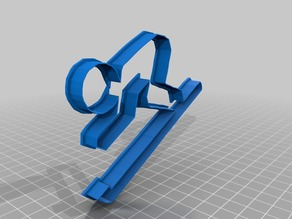 skiing Cookie Cutter