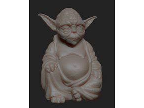 More Accurate Yoda Buddha