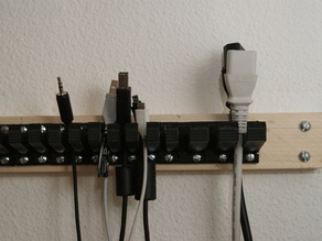 Parametric Cable Holder