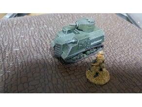 "Soviet ""Odessa Tank"" WW2 28mm"