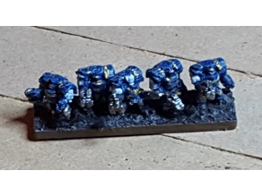 Epic Scale Astartes Cataphractii Terminator Proxy - low poly