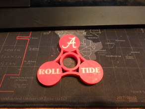 Alabama Fidget Spinner #2