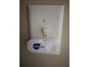 Amazon Dash button light switch holder