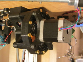 Drew's Planetary Geared Extruder