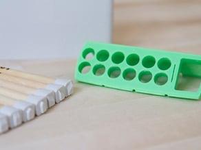 Push-Pin Organizer Insert & Chisel Cap Set