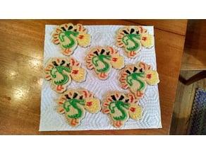 Homestar Runner Cookie Cutter Set #5