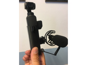Dji Osmo Pocket support microphone