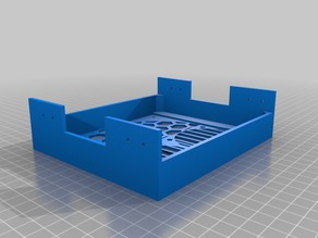 Mount for 5.25 bay for 2x60mm fans