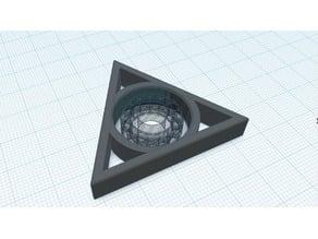 FIgdet spinner triangle
