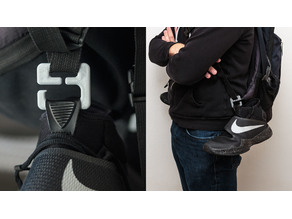 Shoe clip for basketball shoes