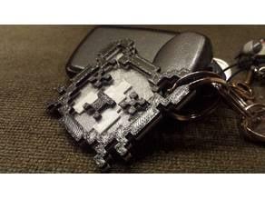 Guppy's Head keychain (Binding of Isaac)