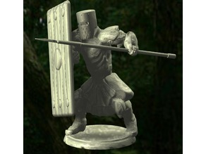 Knights - Spear and Shield Tower Guard