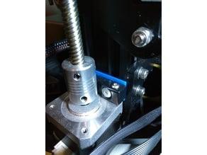 Parametric Z motor mount spacer for the Ender 2 / Ender 3