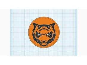 Waynesville R-VI Tiger logo v1