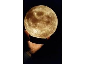 Luna Led con base