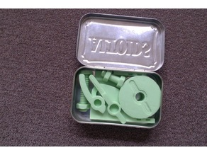 Altoids fishing kit Make