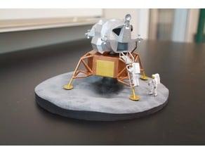 Apollo 11 lunar lander simplified legs