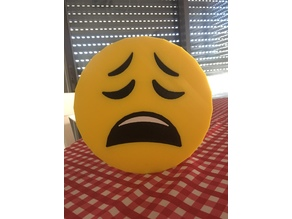 Weary Emoji